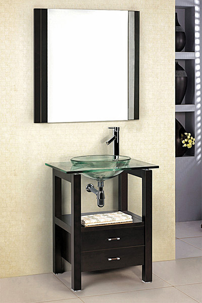 cabinet vanity sink vessel sink and faucet set gvc035